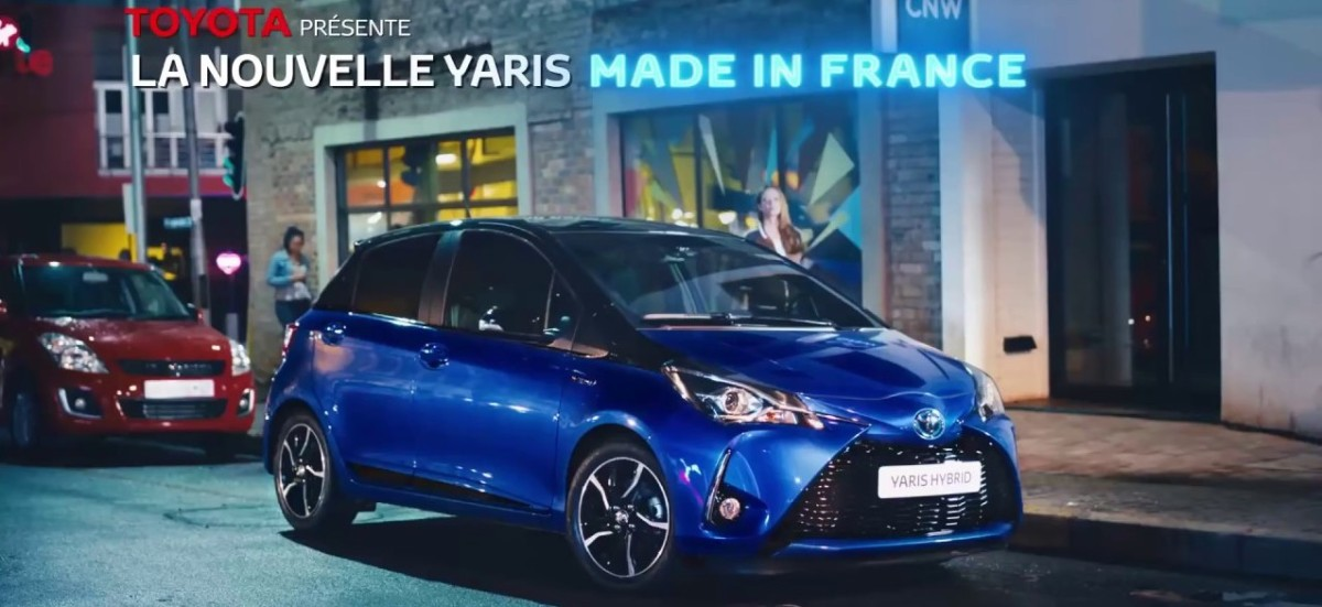 Toyota joue la carte du Made in France