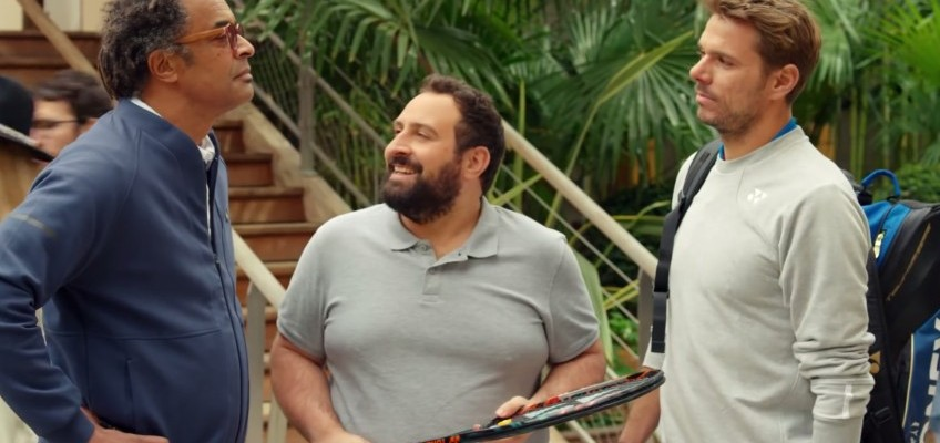 Noah et Wawrinka pour BNP Paribas - publicité marketing